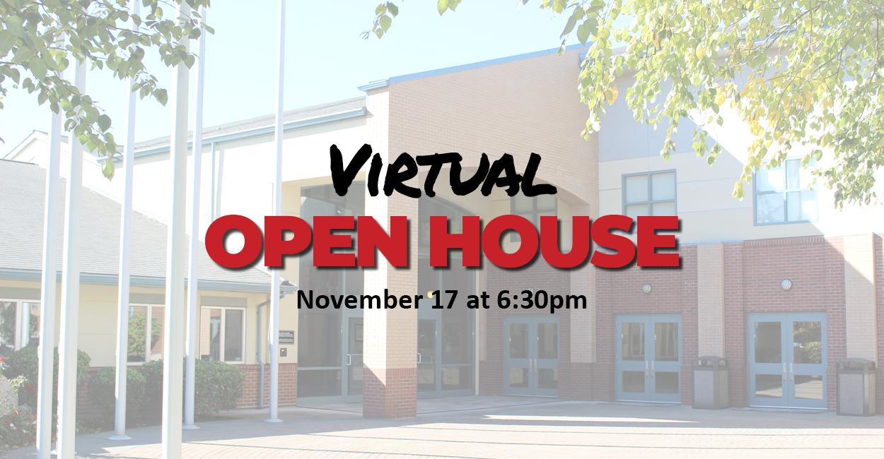 Webpage Header Virtual Open House